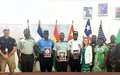 UNMIL supported Liberian Police and Army on Explosive Remnants of War Awareness Campaign